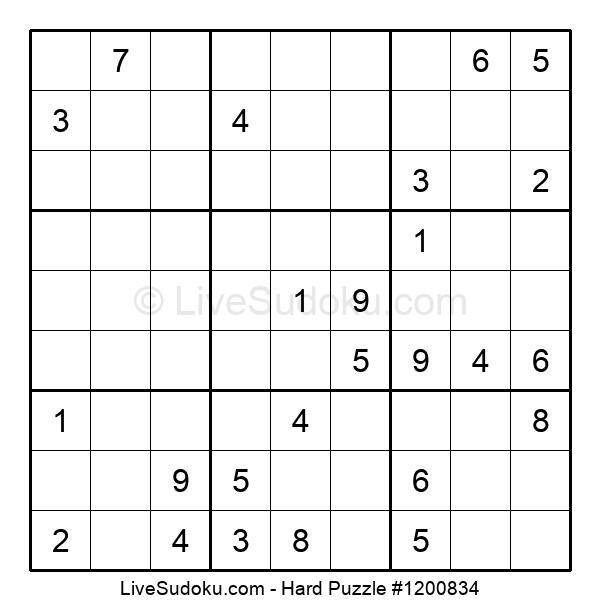 Hard Puzzle #1200834
