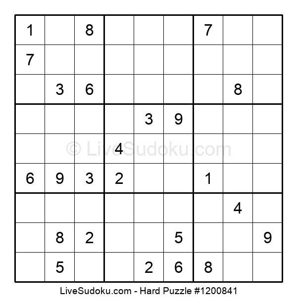 Hard Puzzle #1200841