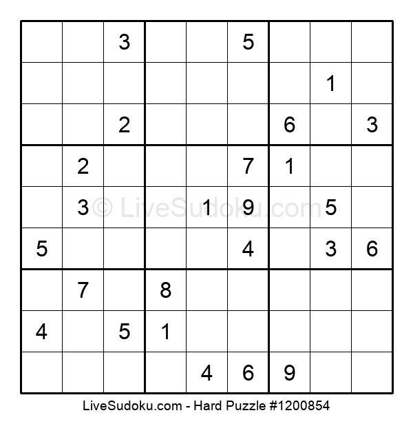 Hard Puzzle #1200854