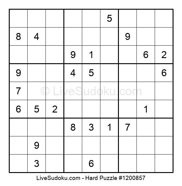 Hard Puzzle #1200857