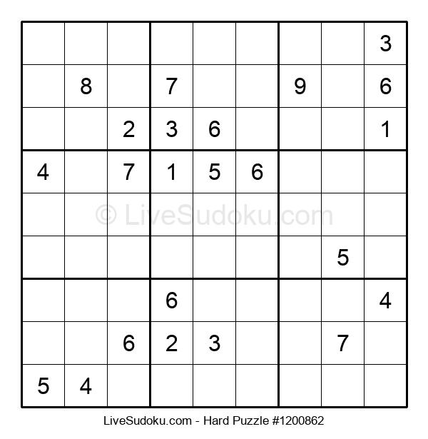 Hard Puzzle #1200862