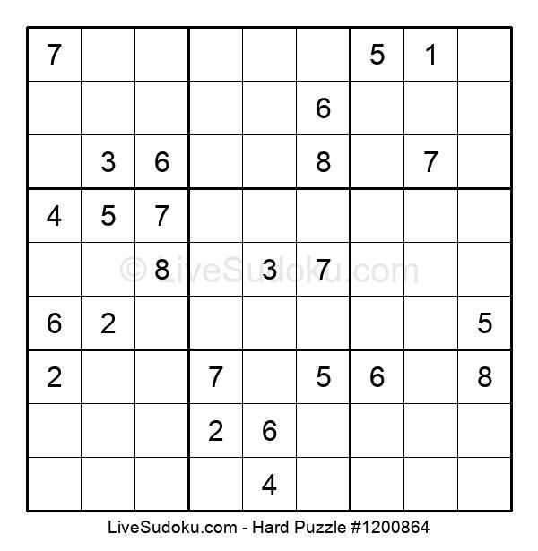 Hard Puzzle #1200864