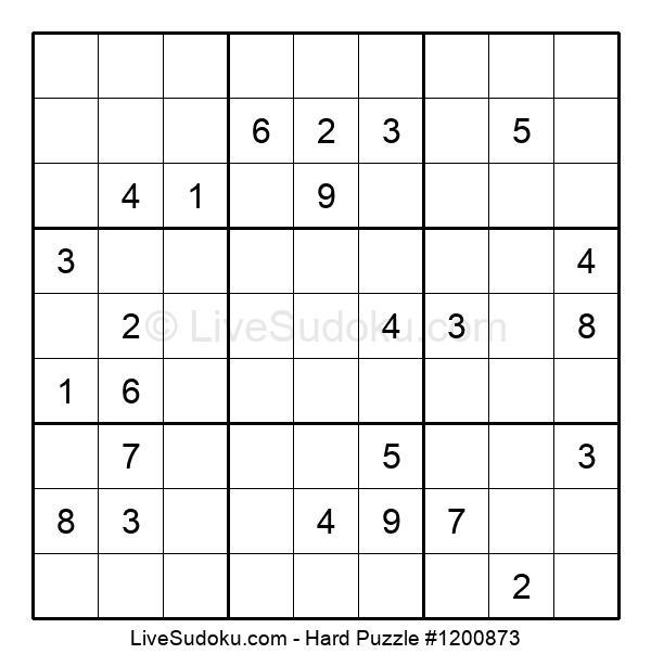 Hard Puzzle #1200873