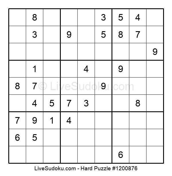 Hard Puzzle #1200876