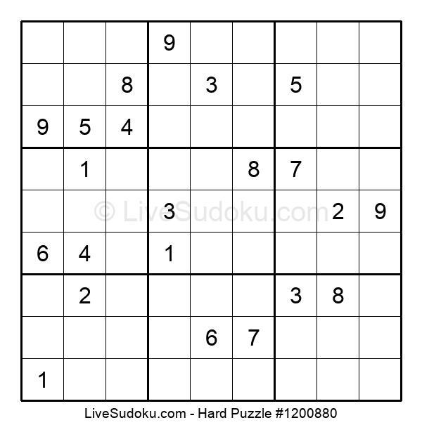 Hard Puzzle #1200880