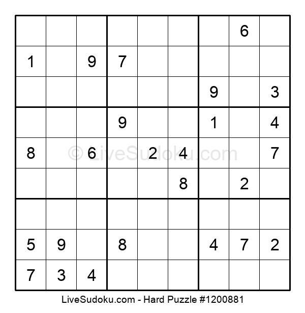 Hard Puzzle #1200881
