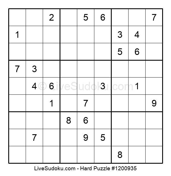 Hard Puzzle #1200935