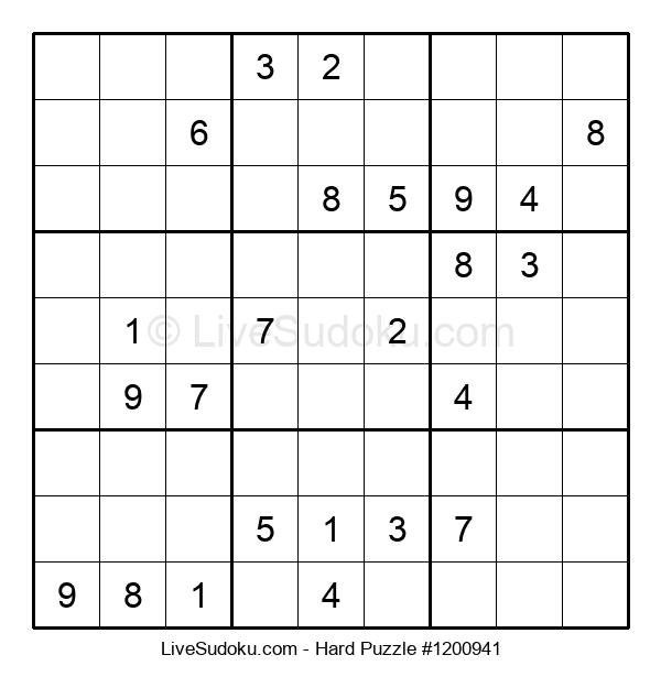 Hard Puzzle #1200941