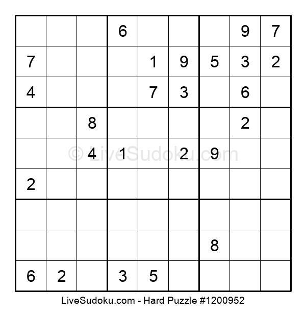 Hard Puzzle #1200952