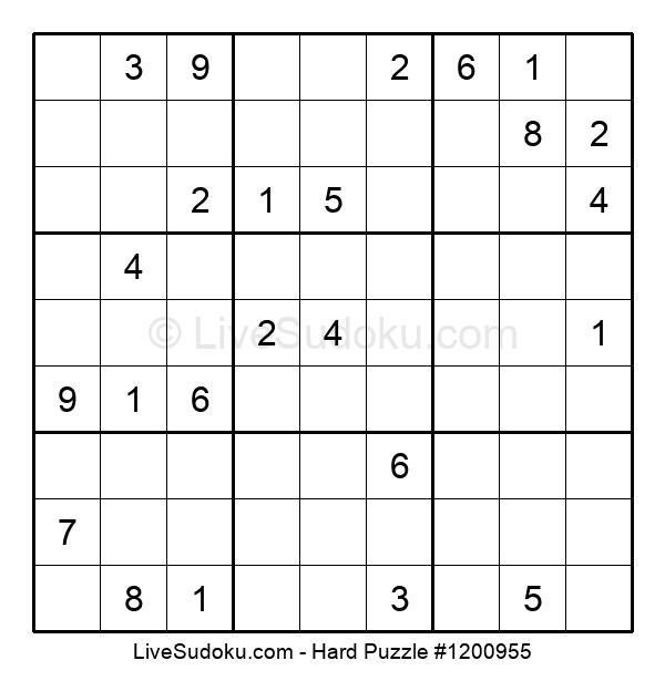Hard Puzzle #1200955