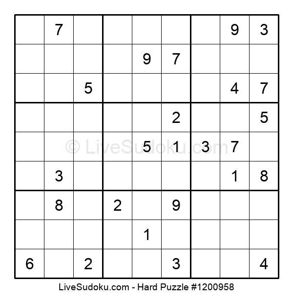 Hard Puzzle #1200958