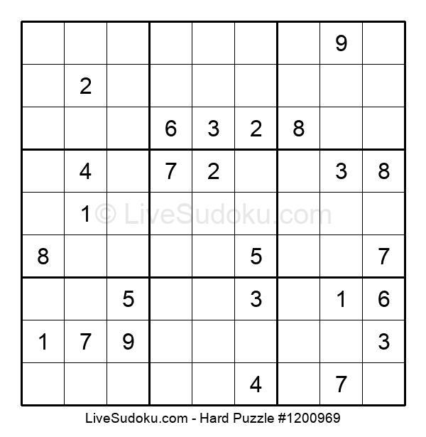 Hard Puzzle #1200969
