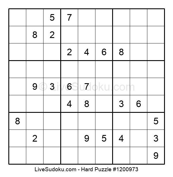 Hard Puzzle #1200973