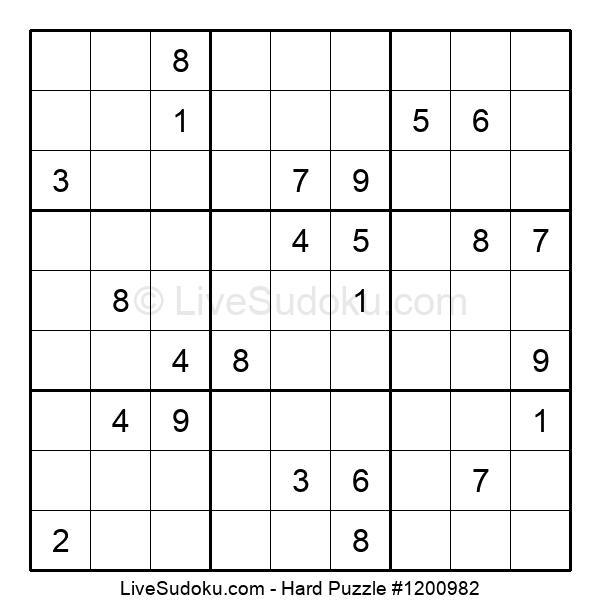 Hard Puzzle #1200982