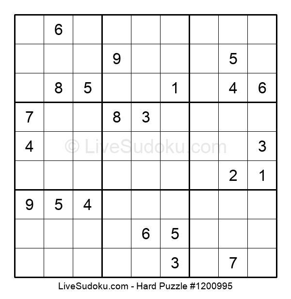Hard Puzzle #1200995