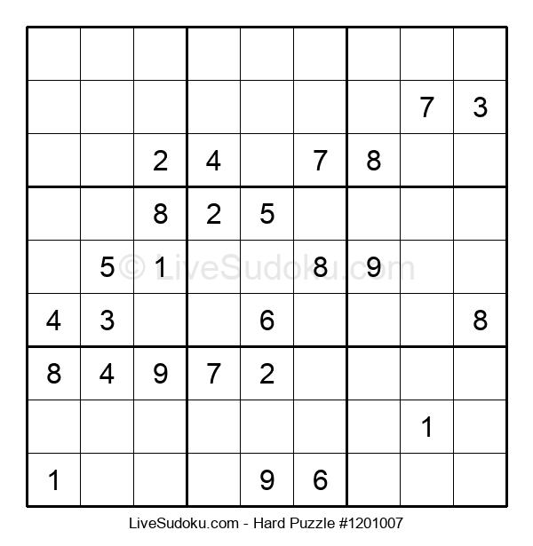 Hard Puzzle #1201007