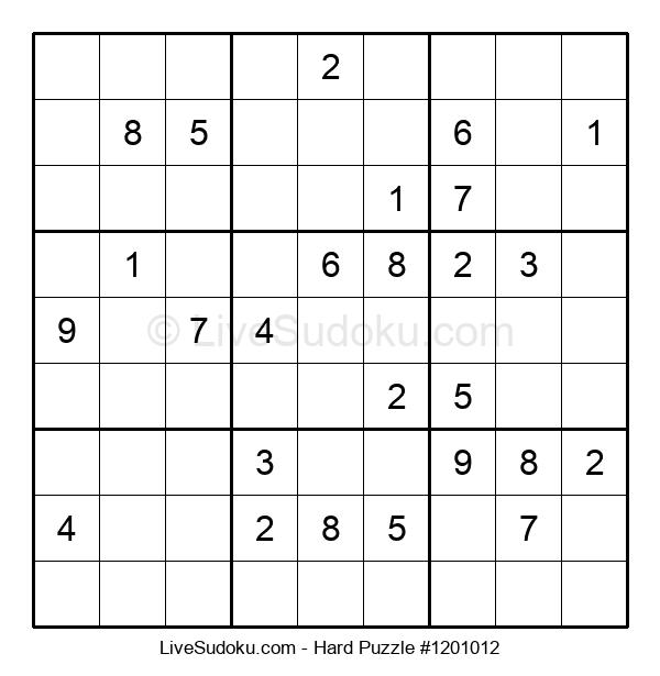 Hard Puzzle #1201012