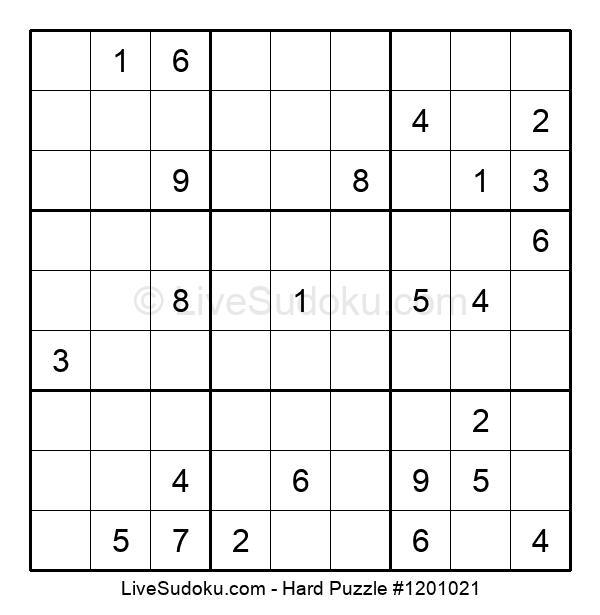 Hard Puzzle #1201021