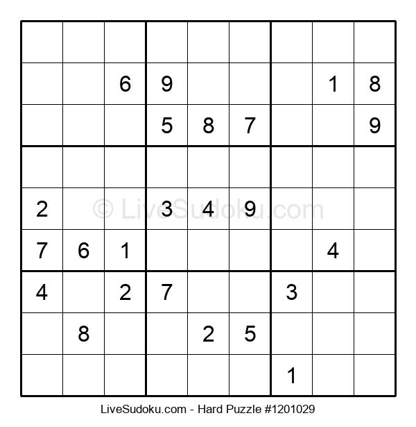 Hard Puzzle #1201029
