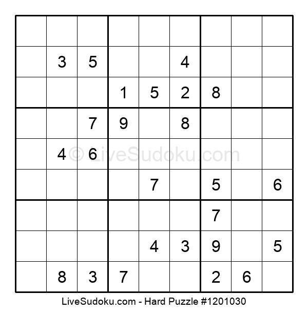 Hard Puzzle #1201030