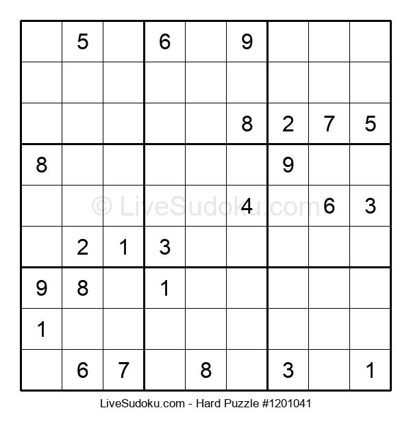 Hard Puzzle #1201041