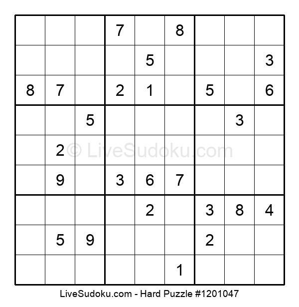 Hard Puzzle #1201047
