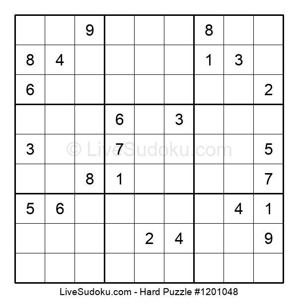 Hard Puzzle #1201048