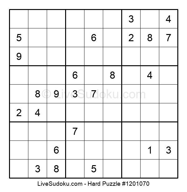 Hard Puzzle #1201070