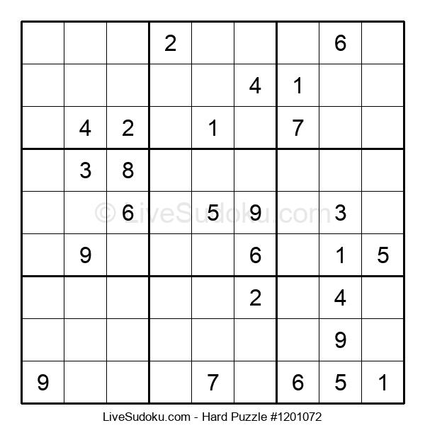 Hard Puzzle #1201072