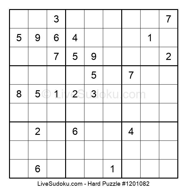 Hard Puzzle #1201082