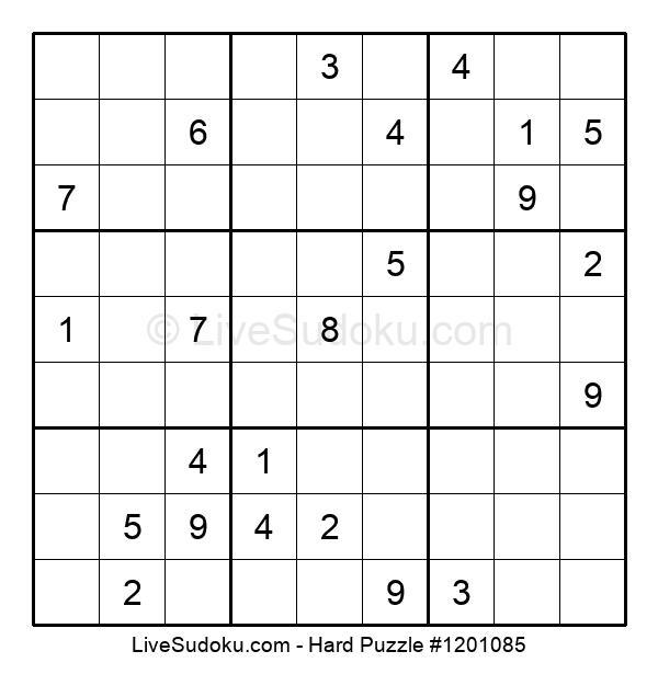 Hard Puzzle #1201085