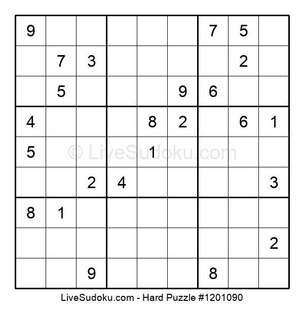 Hard Puzzle #1201090