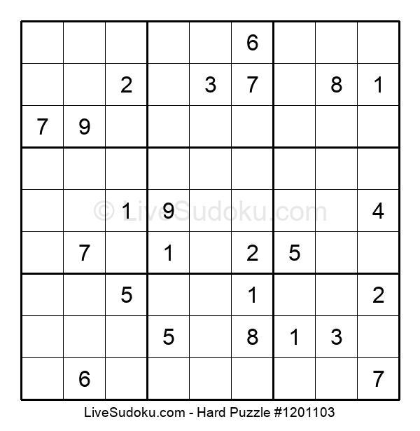 Hard Puzzle #1201103