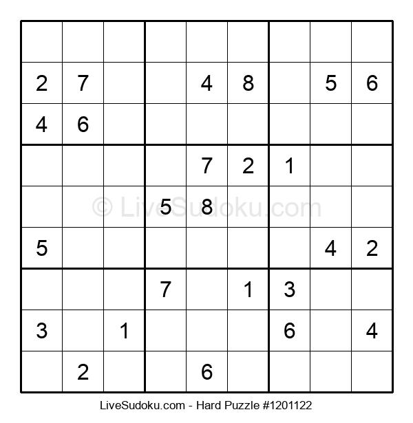 Hard Puzzle #1201122