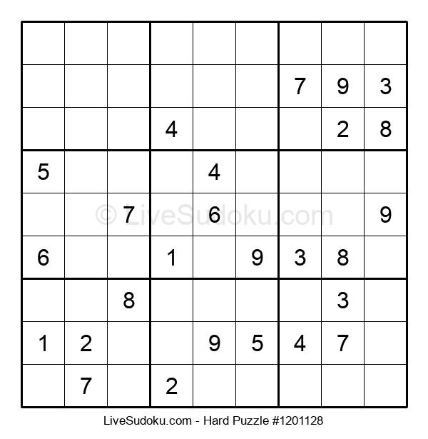Hard Puzzle #1201128