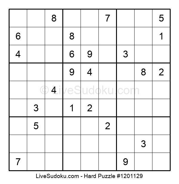 Hard Puzzle #1201129