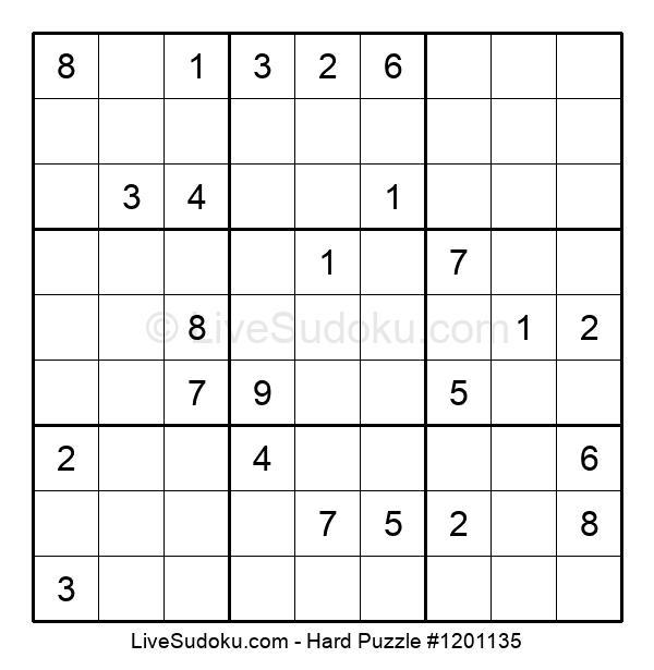 Hard Puzzle #1201135