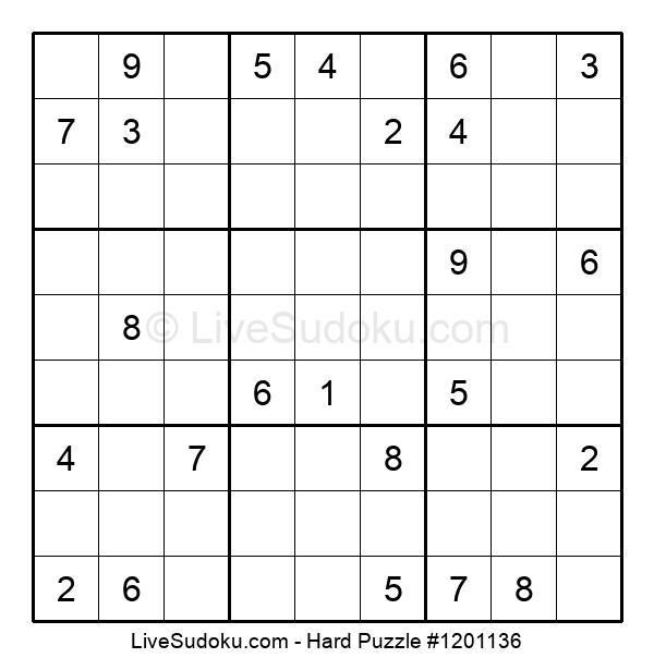 Hard Puzzle #1201136