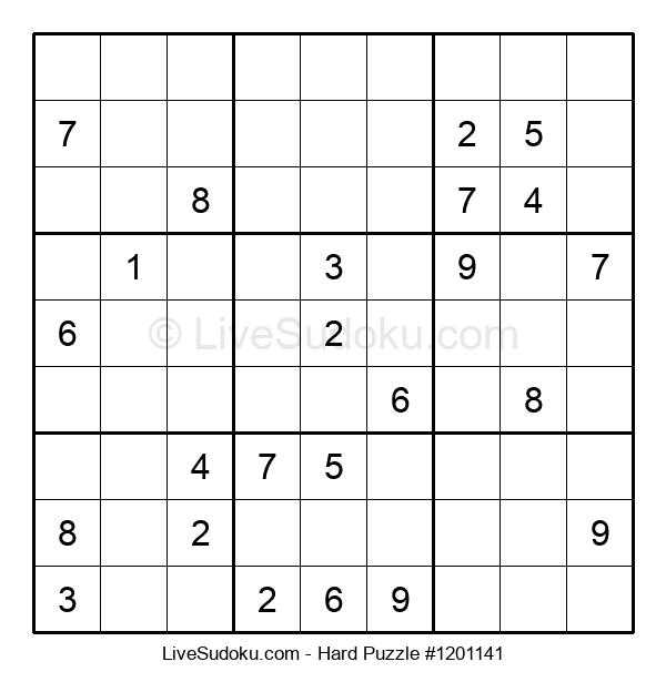 Hard Puzzle #1201141