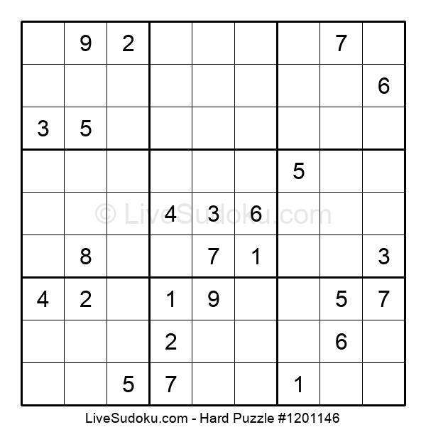 Hard Puzzle #1201146