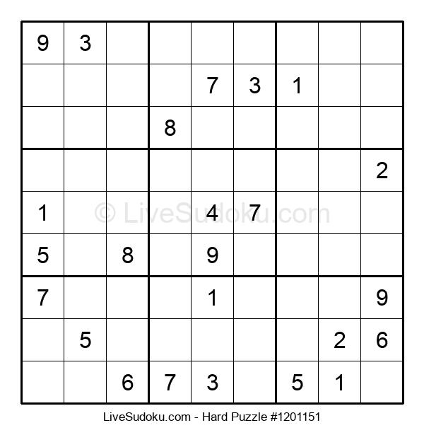 Hard Puzzle #1201151