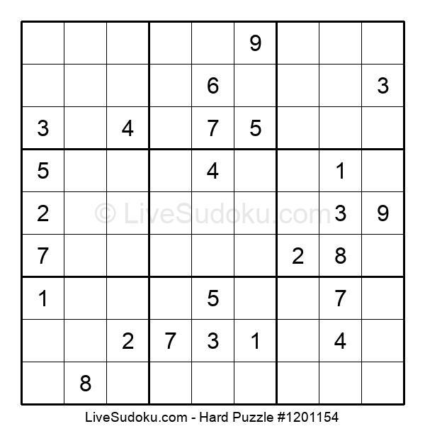 Hard Puzzle #1201154