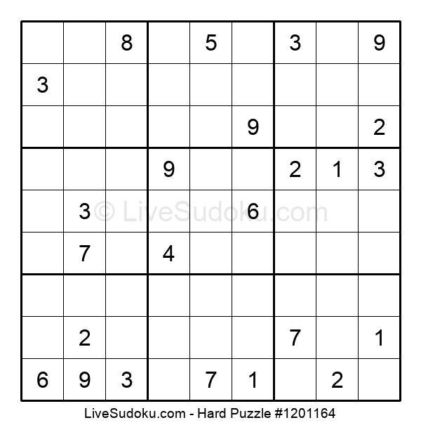Hard Puzzle #1201164