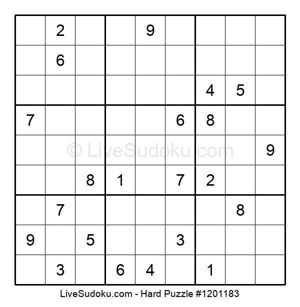 Hard Puzzle #1201183