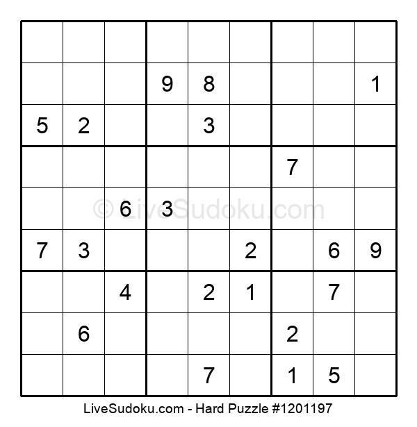 Hard Puzzle #1201197