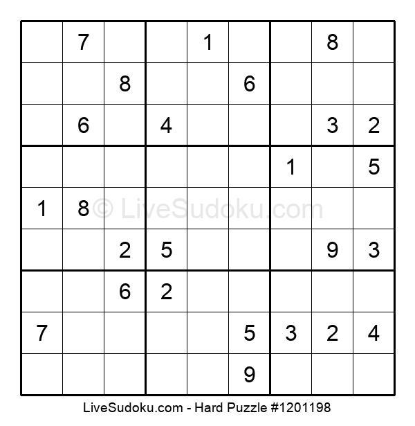 Hard Puzzle #1201198