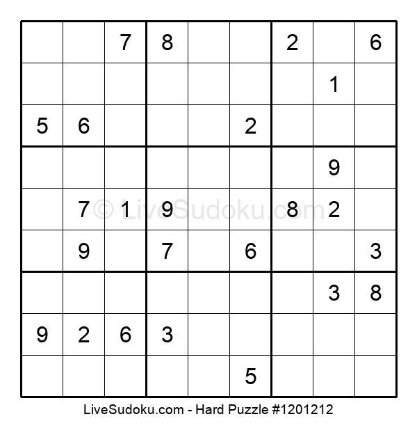 Hard Puzzle #1201212