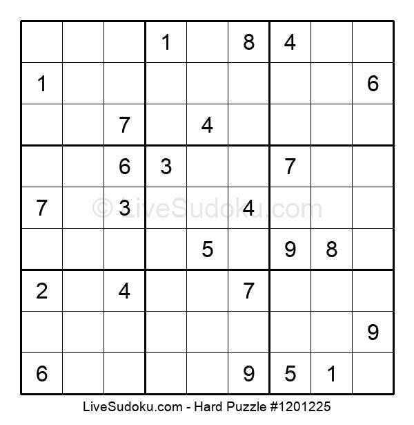 Hard Puzzle #1201225