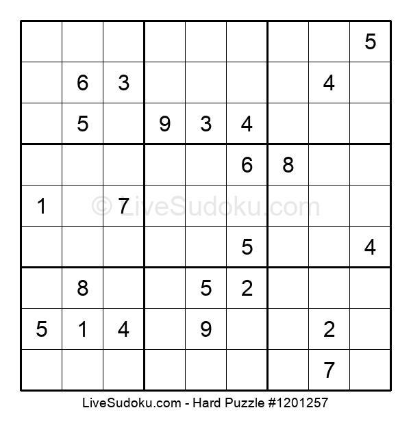Hard Puzzle #1201257