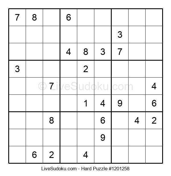 Hard Puzzle #1201258